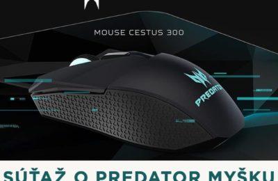 Súťaž o hernú myšku Acer Predator Cestus 300