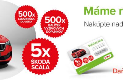 Nakúpte nad 9 Eur a ste v hre o 5x automobil a dalšie parádne ceny