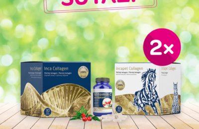 Súťaž o 2 darčekové balíčky produktov Inca Collagen