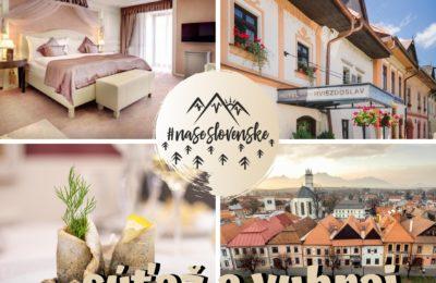 Súťaž o pobyt pre dvoch na 2 noci v hoteli pod Tatrami