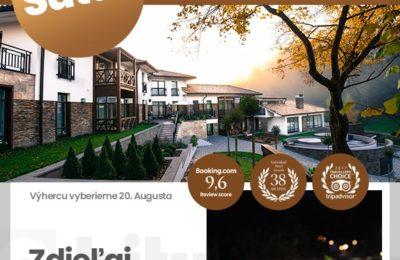 Súťaž o víkendový pobyt pre 2 osoby v spolupráci s Penziónom Villa Helia
