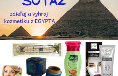 SÚŤAŽ o balíček kozmetiky priamo z EGYPTA