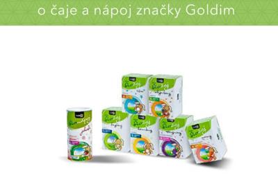 Súťaž o balíček produktov značky Goldim