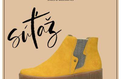 Súťaž o štýlovú obuv značky 𝐑𝐈𝐄𝐊𝐄𝐑