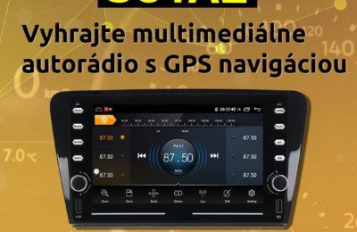 Súťaž o multimediálne autorádio s OS Android