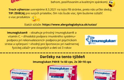 Súťaž o Imunoglukan P4H®