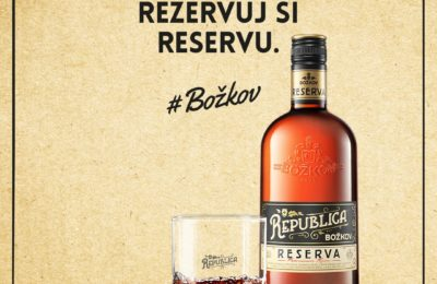 Súťaž o 5x fľašu Božkov Republica Reserva
