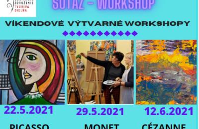 Súťaž o VOUCHER V HODNOTE 30 EUR na výtvarný workshop