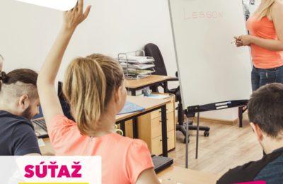 Súťaž o 3 poukazy na kurz obľúbenej jazykovej školy